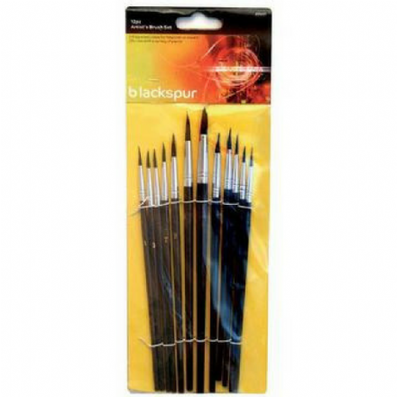 Touch Up Brushes (Pack of 10)